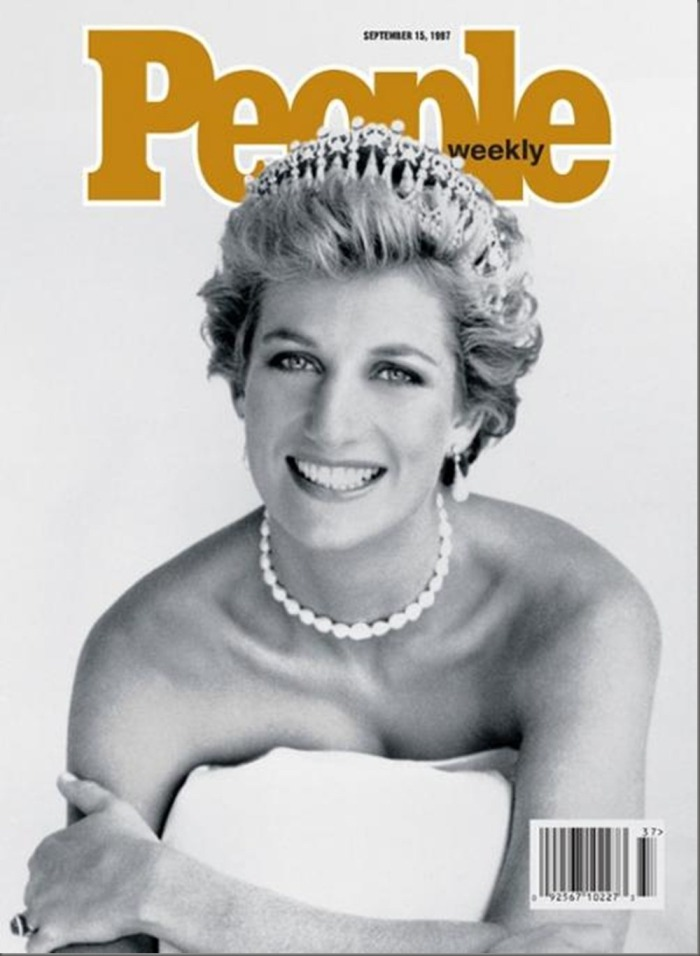 People, September 15, 1997.This is Princess Diana