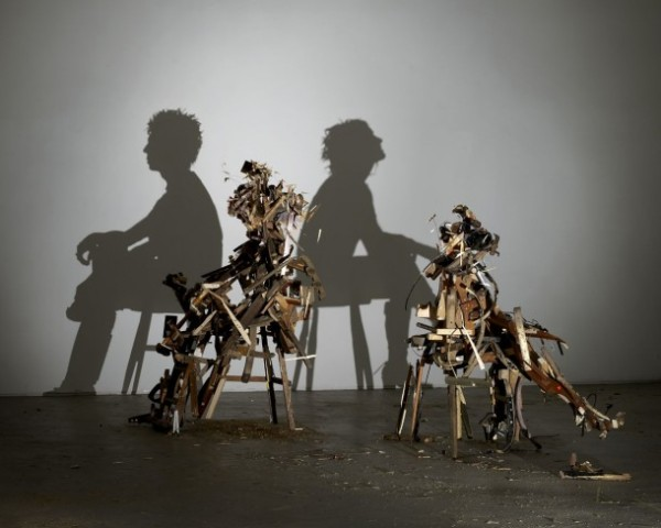 Tim Noble & Sue Webster's Shadow Sculptures — Wild Mood Swings, 2009