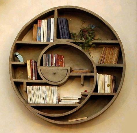 Very nice bookself design