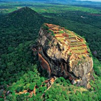 Lions Rock, Sri Lanka