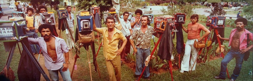 Rio street photographers, 1978. Photographed by Neil Montanus.