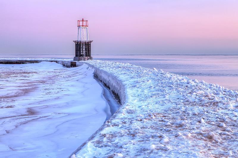 Sunrise Path by Ellen Hodges