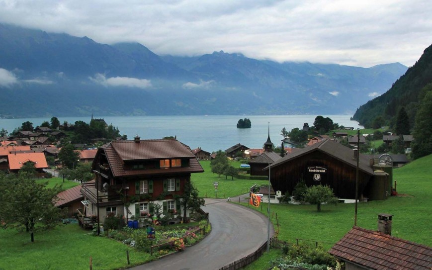 Lake Brienz, Berne, Switzerland