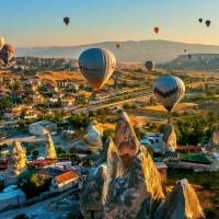 Goreme, Kapadokya, Turkey