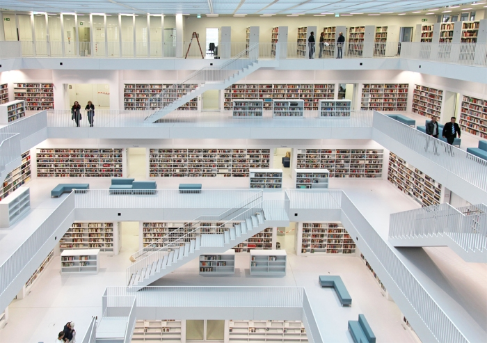 Stuttgart City Library , Germany