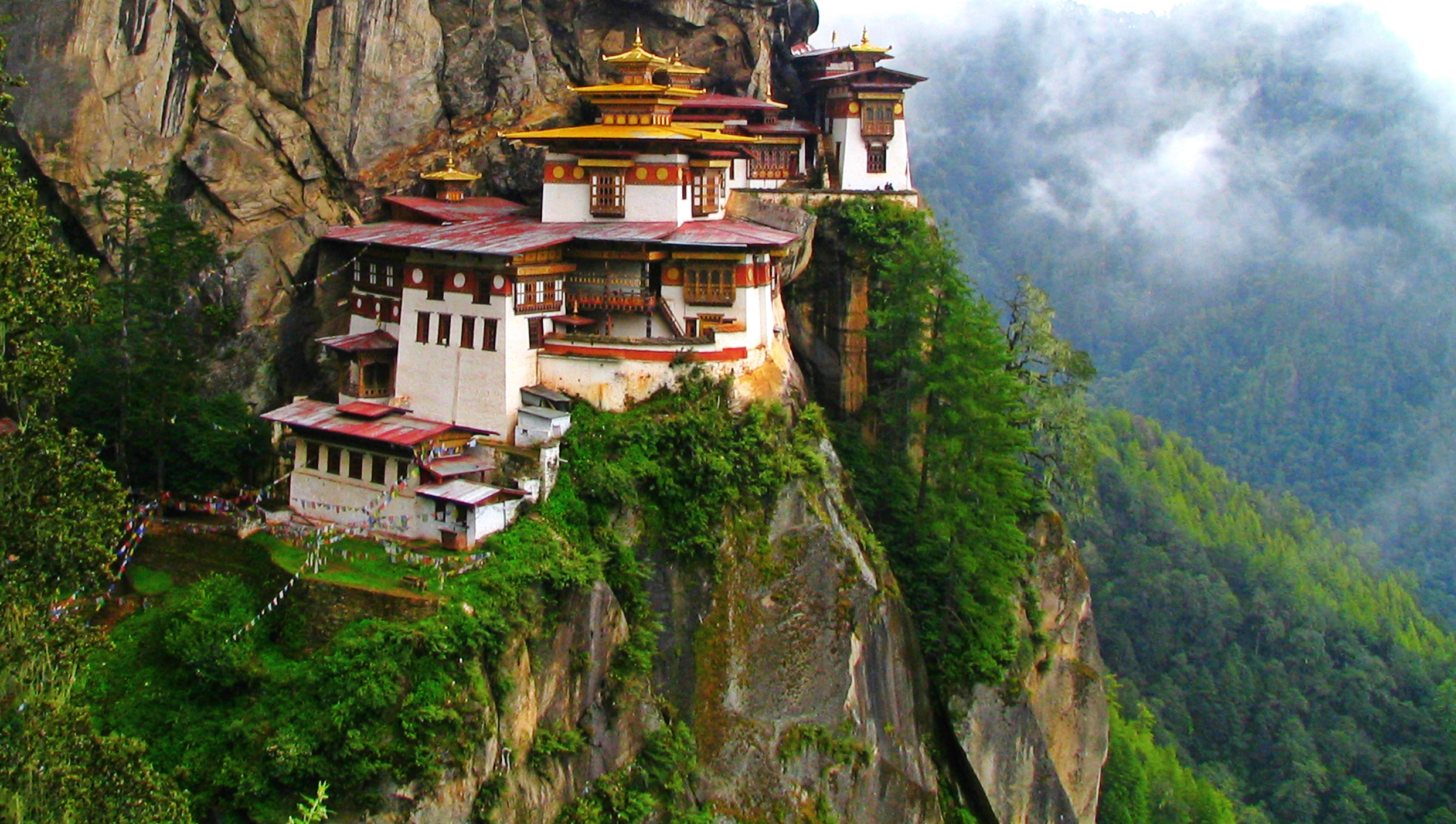 Tiger's Nest Monastery, Paro Valley, Bhutan  ALK3R