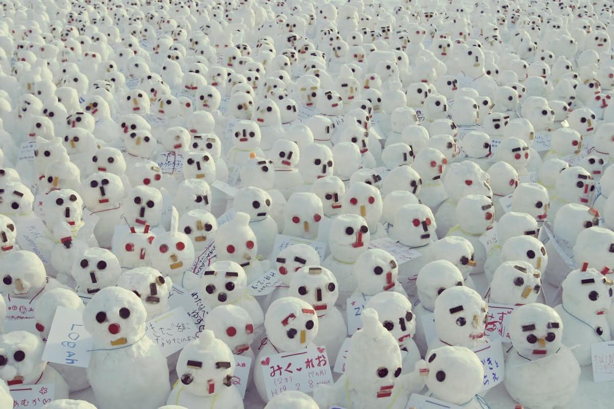Sapporo snow festival japan alk3r - Lustige schneebilder ...