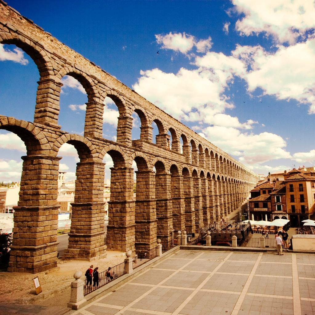 Aqueduct Bridge, Segovia, Spain  ALK3R