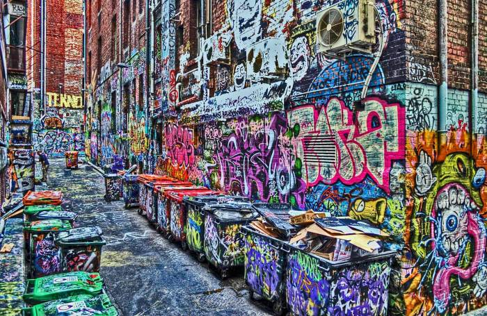 graffiti street