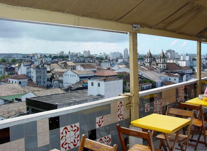 View of Pelourinho District - From Hotel Arthemis - Salvador - Brazil