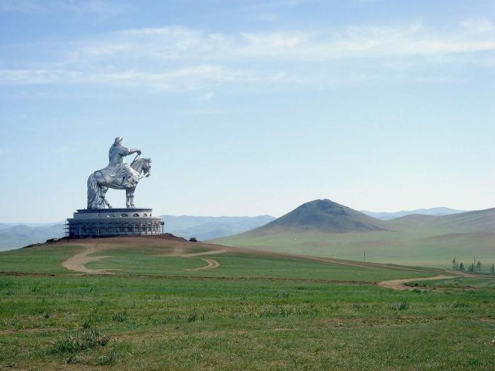 Monument to Genghis Khan, Mongolia