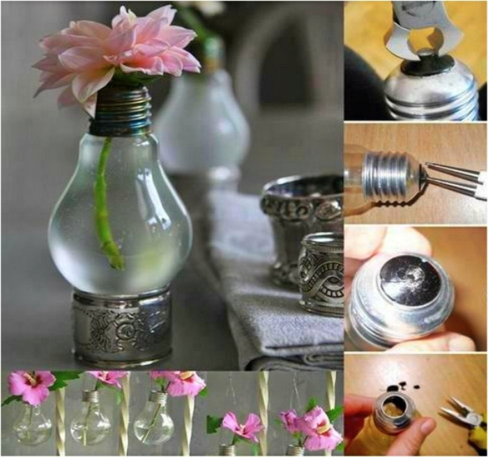 Ideas For Recycling Old Light Bulbs 8