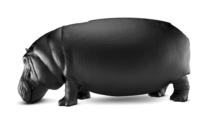 Hippopotamus Chair By Maximo Riera 2