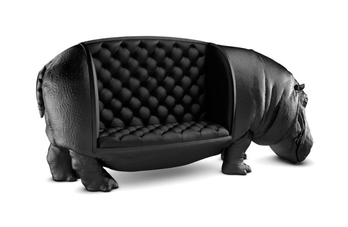 Hippopotamus Chair By Maximo Riera