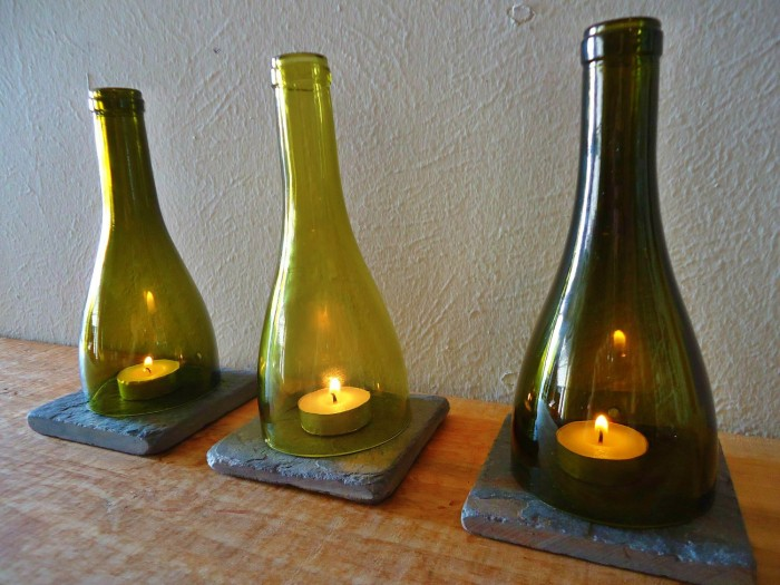 ways to reuse glass bottles 1100