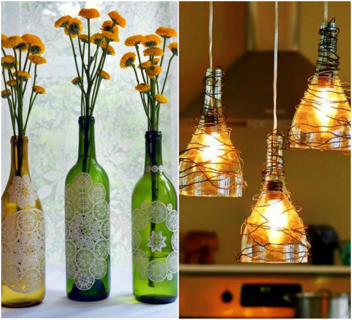 ways to reuse glass bottles 13