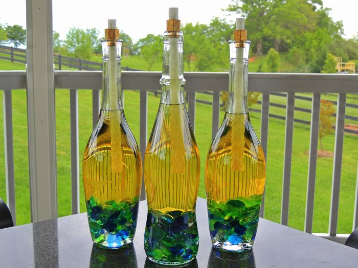 ways to reuse glass bottles 14