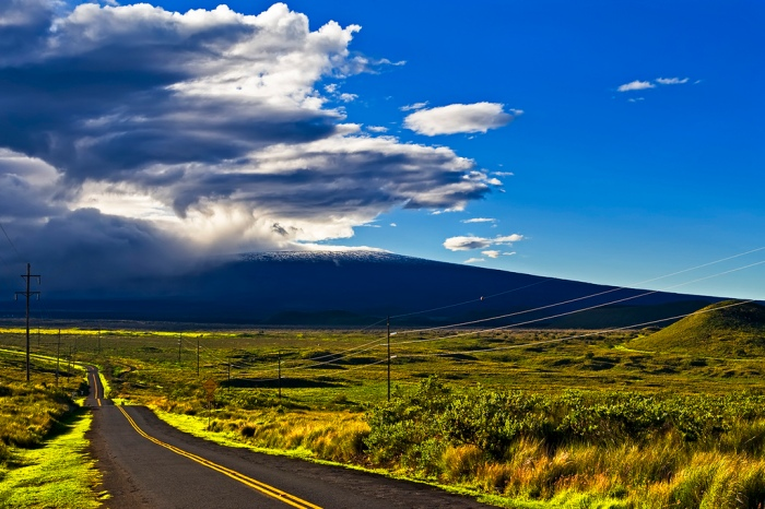 Road to Mauna Kea, Big island