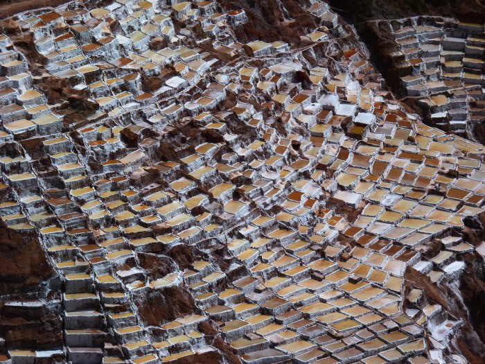 Salts Pans in Moray, Perú
