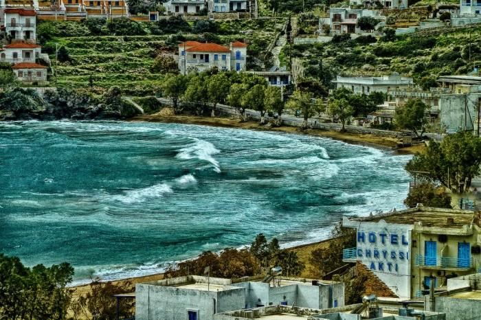 Batsi, Andros island, Greece