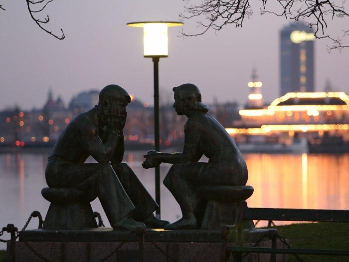 Couple, Copenhagen, Denmark