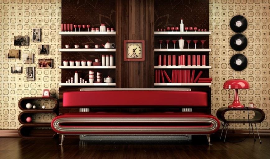 sixties-style-interior-decor-earth-tones