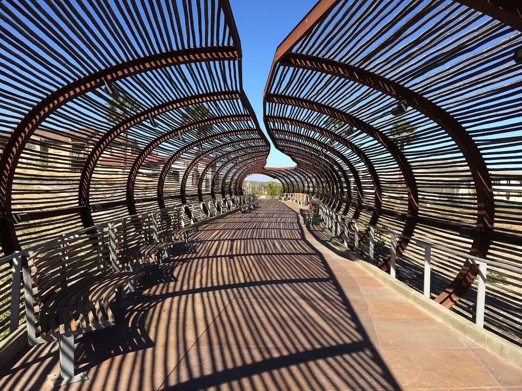 Bamboo And Steel Bridge Corona Ca Alk3r