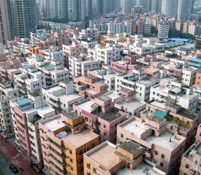 Urban Village, Shenzhen, China