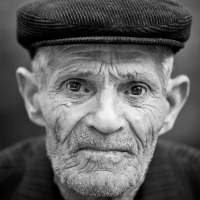 Black & White Portraits of Old Men