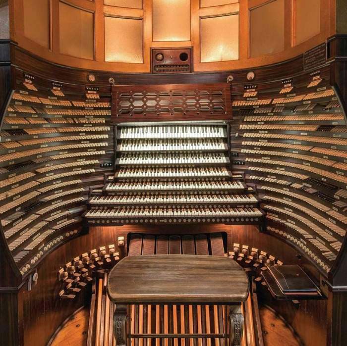 atlantic city convention hall organ