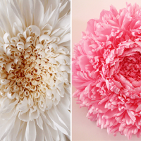 Magnificent Handcrafted Paper Flowers