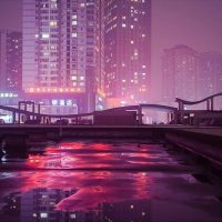 Pink Magic in The Streets of China
